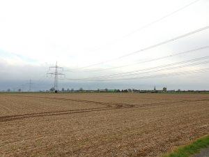 Erweiterung der Hochspannungsleitung bei Blatzheim