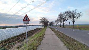 Dringend erforderliche Sanierung der Radwege entlang der Landesstraßen