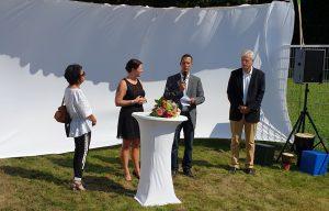 Feierliche Eröffnung des Fröbelkindergarten Quellenpark