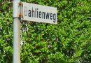 Kanal- und Straßenbaumaßnahme Dahlienweg in Brüggen