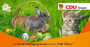 Die CDU-Kerpen wünscht frohe Ostern!
