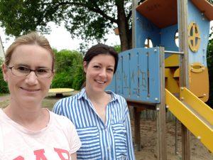 Spielplatzbegehung in Sindorf