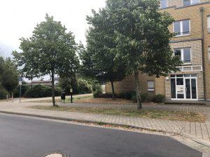 Wartehäuschen Haltestelle Astrid-Lindgren-Straße in Sindorf