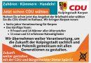 Zuhören – Kümmern – Handeln! Das Team der CDU wählen!