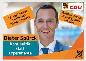 Stichwahl am 27. September – wählen gehen!