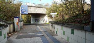 Sauberkeit Horremer Bahnhof