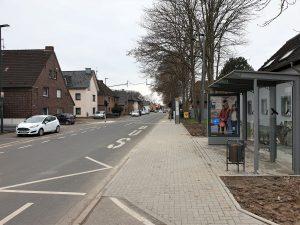 Barrierefreier Ausbau Bushaltestelle Dürener Straße