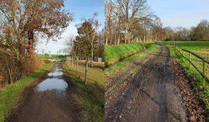 Sanierung des Fuß- und Radwegs am Neffelbach erforderlich