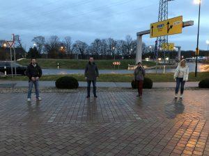 Kreisverkehr Sindorf - Treffen mit MdL Golland