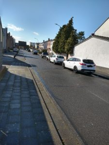 Parkraum um die Falladastraße in Sindorf