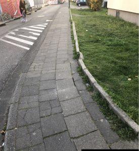 Gehwegschäden Hermann-Löns-Straße